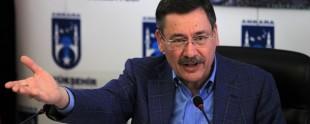 Ankara Büyükşehir Belediye Başkanı Melih Gökçek,