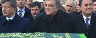 Abdullah Gül, Ahmet Davutoğlu ve Ali Babacan