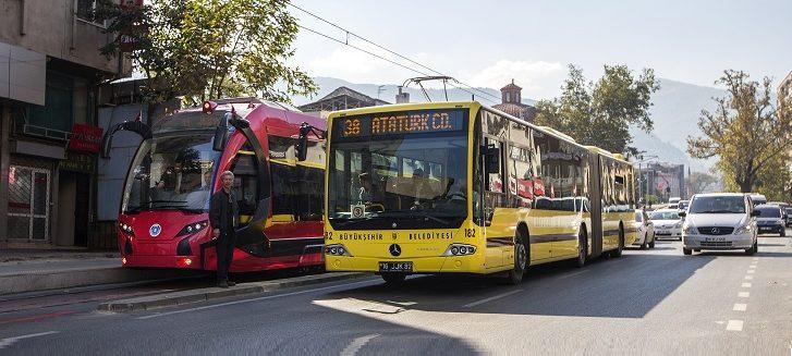 büyükşehir belediye otobüsü