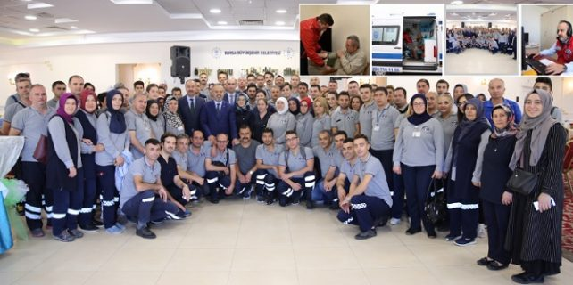 büyükşehir sağlık ekibi