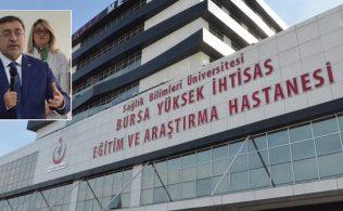 Bursa Yüksek İhtisas Eğitim ve Araştırma Hastanesi'ne bağlı Kalp Merkezi