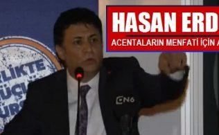 Bursalı iş İnsanı Hasan Erdem, TÜRSAB Genel Başkanlığına adalığını açıkladı.