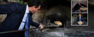 mustafa dündar ekmek pişirdi