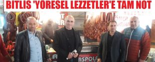 Bitlis yöresel lezzetler festivali