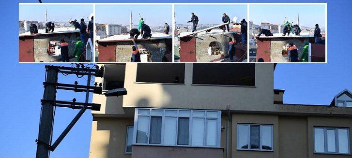 kaçak bina yıkımı