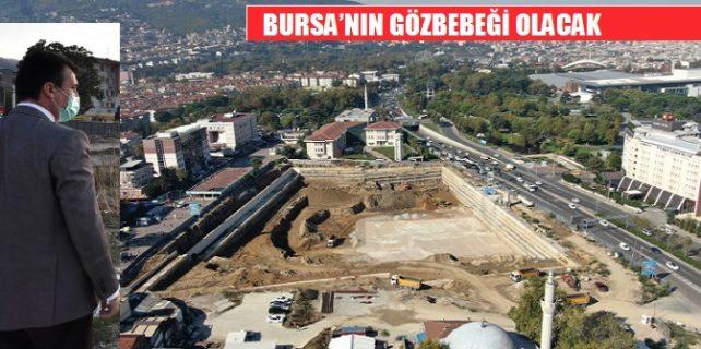 osmangazi kent meydanı