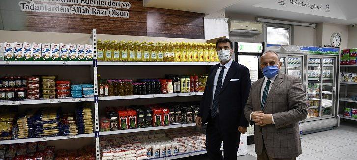 osmangazi hayır marketi