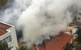 Ormancılık müzesinden yangın